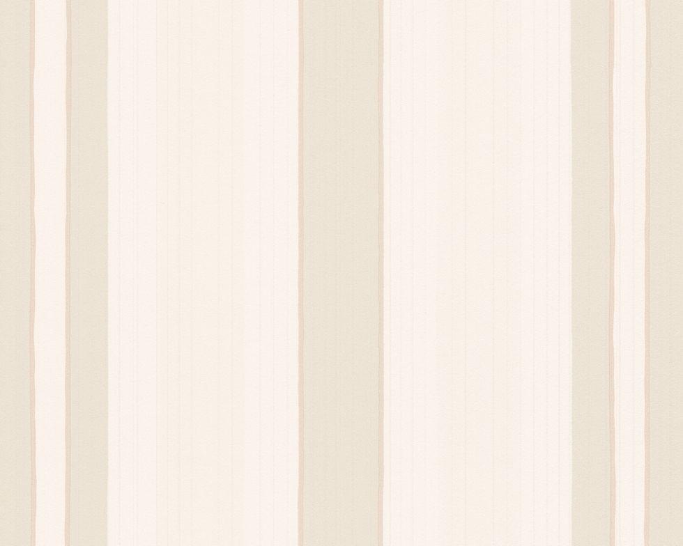 Обои полосатые, белые, флизелиновые 897619.