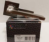 Ручка раздельная FUARO ROCK KM SN/CP-3 матовый никель-хром