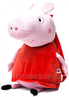 Мягкая  игрушка Peppa рюкзак детский Пеппа 52 см