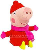 Мягкая игрушка ПЕППА в зимней одежде 20 см М'яка  іграшка - ПЕППА У ЗИМОВОМУ ОДЯЗІ (20 см)
