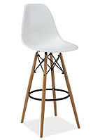 Пластмассовый барный стул Enzo H1