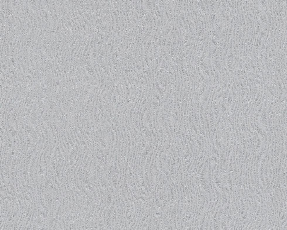 Однотонные светло-серые немецкие обои 944979, очень светлого пастельного оттенка, моющиеся виниловые, на флизе