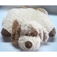 Мягкая игрушка - СОБАКА-ПОДУШКА (кремовая, 45см)