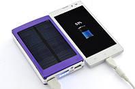 Солнечное портативное зарядное устройство Power Bank Повер Банк Solar 15000mAh