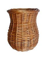 Корзинка плетеная для карандашей, для мелочей,для пуговиц, для хранение вещей