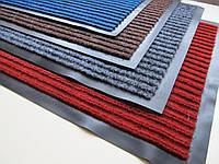 """Придверный грязезащитный коврик  на резиновой основе """"Полоса"""" 60*90см"""