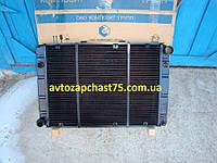 Радиатор Газ 3110, Газ 31105, Волга, 3-х рядный, медно-латунный (Композит групп, Россия)
