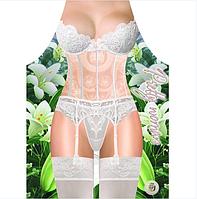 Фартук женский белое белье