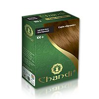 Краска для волос Chandi. Серия Органик. Светло-коричневый, 100 гр