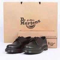 Низкие черные ботинки Dr. Martens 1461 Black