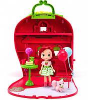 Игровой набор Шарлотта Земляничка Ягодный домик с куклой и аксессуарами