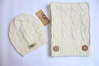 Набор шапка и шарф UGG
