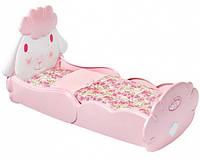 Кроватка для куклы Baby Annabell Zapf Сладкие сны с постельным набором