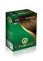 Краска для волос Chandi. Серия Органик. Коричневый, 100 г