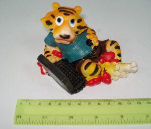 """Подставка под мобилу  JO """"Тигр с компьютером"""" №5290"""