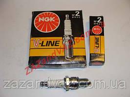 Свічки запалювання NGK V-Line №2 BPR6E ВАЗ 2108-21099 2110 8 кл. оригінал
