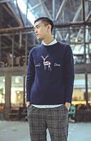 Зимний свитер унисекс с оленем deer