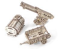 Механический 3D-пазл UGEARS Набор дополнений к модели «Грузовик UGM-11», Харьков