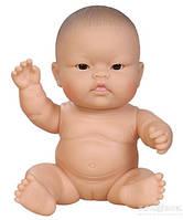 Пупсы Paola Reina новорожденные младенцы девочка китайка без одежды, 22 см