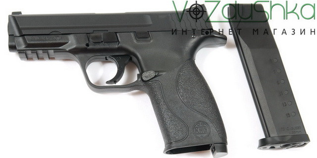 пневматический пистолет sas mp-40 с извлеченным магазином