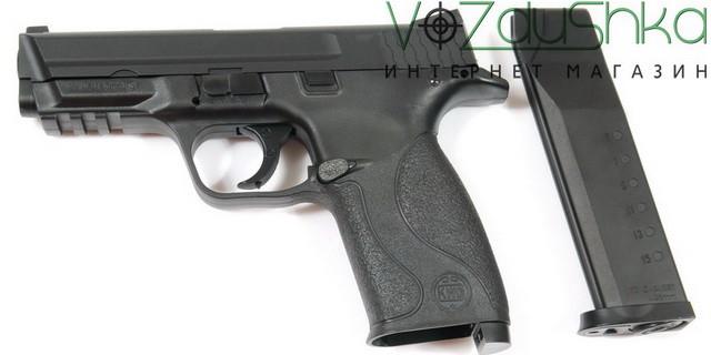 пневматический пистолет kwc smith&wesson km48 d