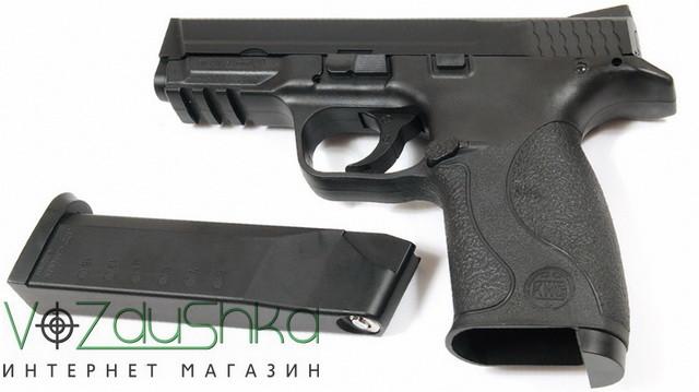 пневматический пистолет sas mp-40 с магазином