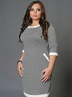 Платье новинка Марта больших размеров красивое  модели в размерах 46,48,50,52,54, 56, 58
