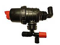 Фильтр опрысивателя всасывающий с запорным клапаном Agroplast 75л/мин