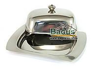Масленка из нержавеющей стали для 200 гр масла Empire (EM-9449)