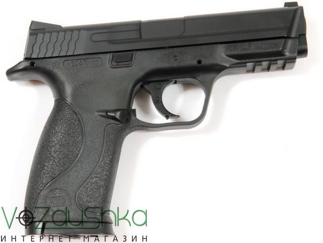 пневматический пистолет smith&wesson mp40 kwc km48(d)