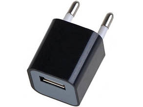 Зарядка USB aдаптер 220v для iPhone/iPod «Кубик» FFD