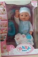 Кукла-пупс Baby Born, 40 см, 6 функций, BL 233 C