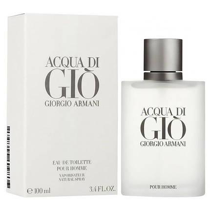 Мужские - Armani Acqua di Gio pour homme (edt 100ml) Армани аква ди джио пур хом, фото 2