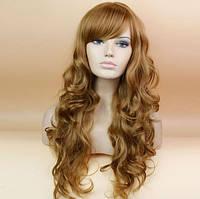 Парик коричневые волосы