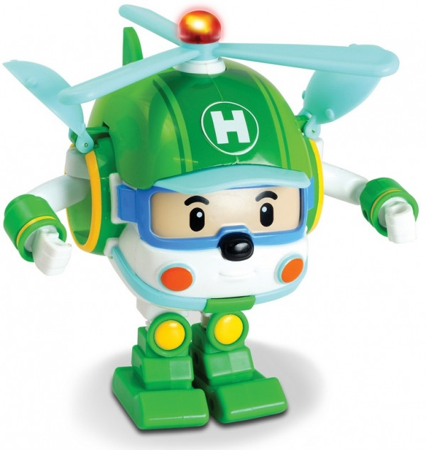Robocar Poli Хэли трансформер с подсветкой 12.5 см