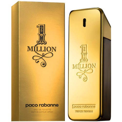 Мужские - Paco Rabanne 1 million (edt 100 мл)