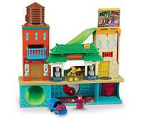 Супер-набор серии Малыши Черепашки-Ниндзя Штаб-квартира с фигурками Майки и Сплинтера (озвучена, 50 звуков)