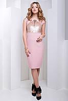 Нежное Вечернее Платье с Пайетками Розовое XS-XL