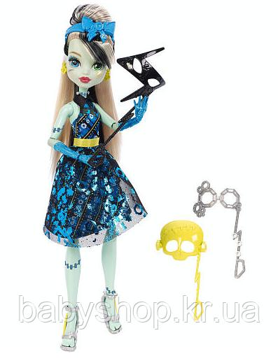 Кукла Френки Штейн Танец без страха Monster High Welcome to Monster High Doll - Frankie Stein, фото 1