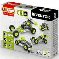 Детский конструктор Engino серии Inventor 4 в 1 – Автомобили