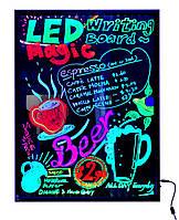 Светодиодная Led вывеска, доска Fluorecent Board 50-70см