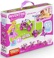 Детский конструктор Engino серии Inventor Princess 15 в 1 Конструктор Engino серии Inventor Princess 15 в 1