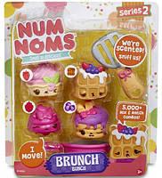 Набор ароматных игрушек Num Noms S2 - Ла-Ла-Ланч (3 нама, 1 ном, с аксессуарами)