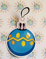 Наклейки интерьерные для стен и окон Ёлочная игрушка