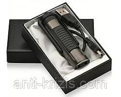 Подарочная USB зажигалка-бритва №4359,оригинал,подарочная упаковка