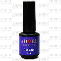 Adore - финишный слой для покрытия ногтей гель-лаком с липким слоем, 9 мл