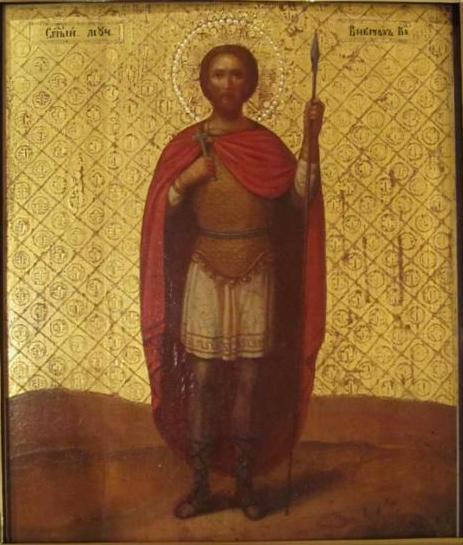 Икона Св. мученик Виктор XIX век