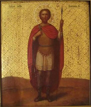 Икона Св. мученик Виктор XIX век, фото 2