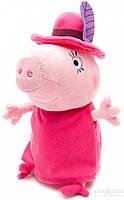 Мягкая игрушка Peppa - Мама Свинка в шляпе 30 см