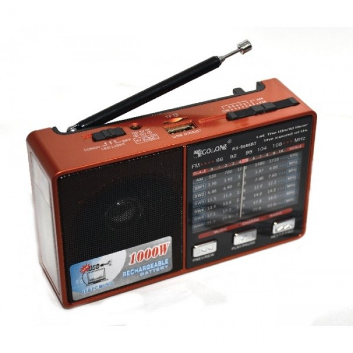 Портативне радіо MP3 Golon RX 8866 DK